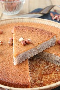 For a little while, I had a recipe idea that was trotting in my head: I wanted to replicate a famous nutty cake that I used to buy at the supermarket. In order to get closer to the texture and the rendering, I took inspiration … New Dessert Recipe, Dessert Recipes, Fall Recipes, Sweet Recipes, Mini Desserts, Chocolate, Food And Drink, Favorite Recipes, Yummy Food