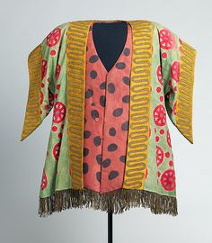 Leon Bakst, Costume for the Ballet Russe Couture Fashion, Fashion Art, Vintage Fashion, Ballet Fashion, Theatre Costumes, Ballet Costumes, Léon Bakst, Sonia Delaunay, Russian Ballet