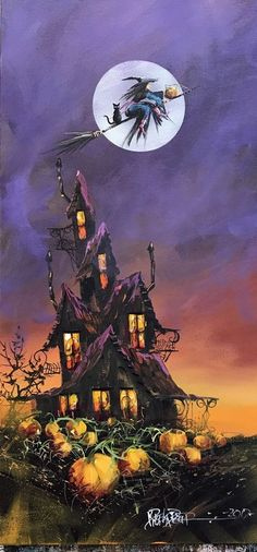 35 Best Halloween Wallpaper Ideas - Ideas for You - Retro Halloween, Halloween Kunst, Halloween Artwork, Halloween Painting, Halloween Images, Halloween Projects, Halloween Cat, Holidays Halloween, Halloween Themes
