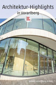 In Vorarlberg wurden zahlreiche öffentliche Bauten für Kultur, Freizeit und Tourismus mit nationalen und internationalen Architekturpreisen ausgezeichnet. Eine Auswahl an sehenswerten Objekten für Architekturinteressierte. Architecture Awards, Heritage Site, Communities Unit