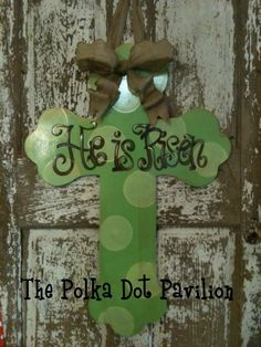 Want this for my door...by Polka Dot Pavilion