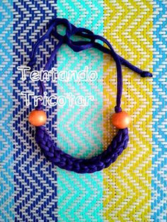 Tentando Tricotar Washer Necklace, Crochet Necklace, 1, Jewelry, Color Crafts, Yarn Necklace, Baby Shoes, Diy Kid Jewelry, Necklaces
