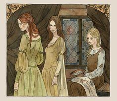 Once Upon A Blog...: Cinderella (Aschenputtel) by Līga Kļaviņa