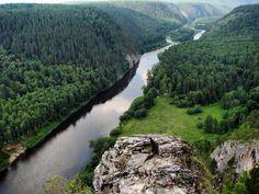 Башкирия.Река Белая.
