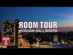 Morgan Hall North Room Tour - YouTube University Dorms, Dorm Life, Room Tour, Temple, Channel, College, Tours, Youtube, University