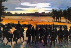 Ataque de Hardee en Shiloh, 6 de Abril de 1.862. hermosa pintura de Alan Perry. http://www.elgrancapitan.org/foro/viewtopic.php?f=21&t=11680&p=905038#p905038