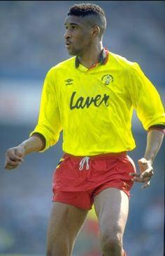 Brian Deane of Sheffield Utd in Classic Football Shirts, Vintage Football Shirts, Best Football Team, Football Jerseys, Sheffield United Fc, Yorkshire England, South Yorkshire, Bramall Lane, Premier League