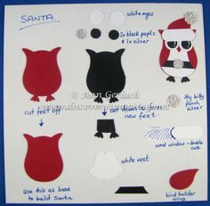 Owl Punch Santa Tutorial | Discover Ink – Ann Gerlach Independent Stampin' Up!® Demonstrator