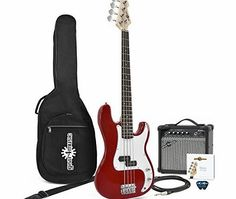 Gear4Music LA Bass Guitar   Amp Pack Red The LA Bass Guitar and Amp Pack by Gear4music features our LA Bass Guitar in Red plus our 15W Bass Amplifier and comes bundled with a durable padded gig bag spare strings a lead and picks making this  http://www.comparestoreprices.co.uk/bass-guitars/gear4music-la-bass-guitar- -amp-pack-red.asp