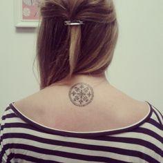 Ethnic Latvian tattoo