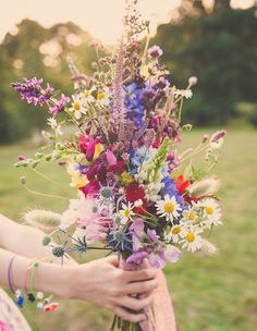 Bunch of wildflowers