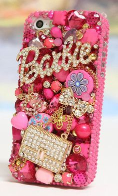 Barbie and Purse 3D design Bling Phone case cover for iPhone 5/ 5s, iPhone 6/ 6S Plus, Samsung Galaxy S3, S4, S5, Galaxy Note 2, 3, 4, 5, Nokia lumia, Black Berry, HTC, Motorola and other phone device. http://luxaddiction.com/collections/3d-designs/products/barbie-and-purse-3d-design-style-781