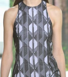 patternprints journal: PRINTS, PATTERNS AND SURFACES FROM NEW YORK FASHION WEEK (WOMAN COLLECTIONS SPRING/SUMMER 2015) / Hugo Boss