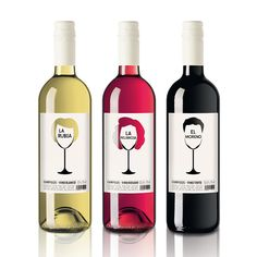 "#Wine- #Label ""Campules"" for Bodegas La Purisima #Spain"