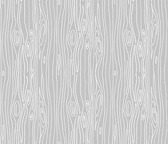 Wonky Woodgrain - Light Light Grey fabric by jesseesuem on Spoonflower - custom fabric
