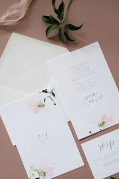 Love Prints Oryginalne Kwiatowe Zaproszenia Ślubne - ZAPROSZENIA ŚLUBNE