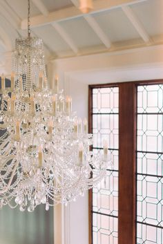 crystal chandelier at the staircase with floor to ceiling Victorian windows at a wedding venue in Yorkshire Wedding Venues Uk, Beautiful Wedding Venues, Wedding Blog, Wedding Ceremony, Destination Weddings, Wedding Ideas, Victorian Windows, Victorian Homes, Glass Chandelier