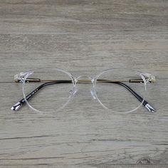 0cdce56b17f Ultra-Light Transparent Eyeglasses Frame for Men and Women Prescription  Spectacles Eyeweardresskily
