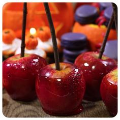 Maçã do Amor – receita de Halloween | Vídeos e Receitas de Sobremesas
