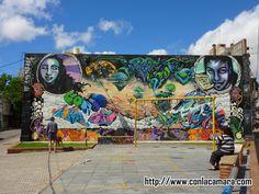 Mi barrio, una Galería de Arte a cielo abierto 2   Con la camara en el bolsillo