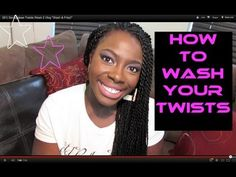How To Wash Senegalese Twists (LOW FRIZZ!)