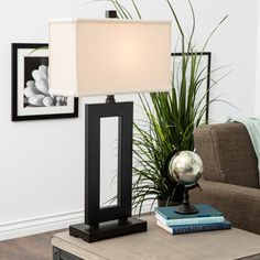Shop for Mocha Metal Table Lamp with Cream Shade. Get free shipping at Overstock.com - Your Online Home Decor Outlet Store! Get 5% in rewards with Club O!