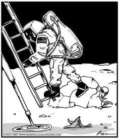 So true story of the moon landings.