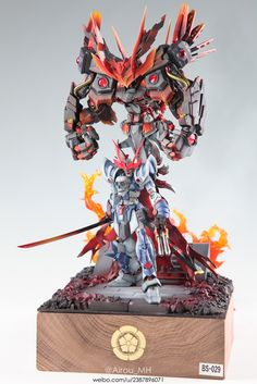 The Devil King of the Sixth Heaven - Diorama Build     Modeled by Airou_MH