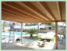 wood patio roof plans-#wood #patio #roof #plans Please Click Link To Find More Reference,,, ENJOY!! Diy Pergola, Rustic Pergola, Pergola Shade, Pergola Kits, Pergola Ideas, Patio Ideas, Corner Pergola, Backyard Ideas, Patio Ceiling Ideas
