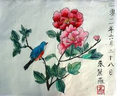 chinese flower painting - Google Search