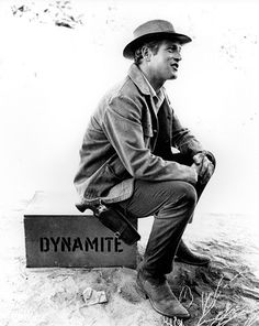 paul newman, dynamite yes he was.