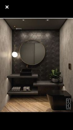Luxus-Badezimmer-Muster-Tapete Linda Carpenter 2019 Luxus-Badezimmer-Muster-Tapete Linda Carpenter The post Luxus-Badezimmer-Muster-Tapete Linda Carpenter 2019 appeared first on Bathroom Diy. Bad Inspiration, Bathroom Inspiration, Interior Design Inspiration, Home Interior Design, Interior Modern, Marble Interior, Spa Interior, Interior Plants, Interior Ideas