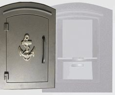 Manchester with security option, Decorative Anchor, Bronze