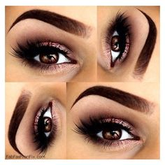 How to do classic smokey eye makeup look tutorial? ❤ liked on Polyvore featuring beauty products, makeup, eye makeup, eyes and beauty