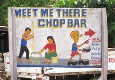 Ghanaian chop bar