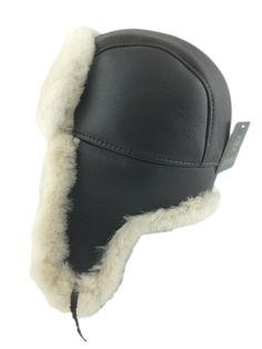 Zavelio   Genuine Sheepskin Coats , Jackets and Hats - Shearling Sheepskin Aviator Bomber Winter Fur Hat - Brown/Beige, $ 74.99 (http://www.zavelio.com/sheepskin-hats/aviator-bomber-hats/shearling-sheepskin-aviator-bomber-winter-fur-hat-brown-beige/)