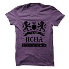 JICHA - TEAM JICHA LIFE TIME MEMBER LEGEND - #tie dye shirt #mens sweater. CHECK PRICE => https://www.sunfrog.com/Valentines/JICHA--TEAM-JICHA-LIFE-TIME-MEMBER-LEGEND.html?68278