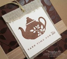 the perfect tag with a tin of tea!