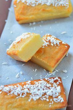 Kimiha: Cassava cake - Bánh khoai mì (bánh sắn) nướng