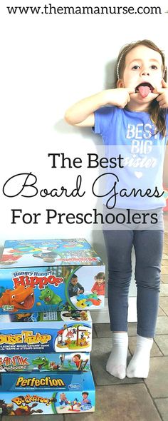 The Best Board Games For Preschoolers. Three year olds want to play or work together with their parents, having them show them just how to do things. Very curious! It also helps to develop the next skill to play with friends at 4 and 5 years old