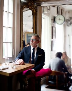 Nick Wooster for GQ.