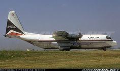 Delta Air Lines (Cargo) Lockheed L-382B Hercules (registered N9258R) at Atlanta (KATL), June 1972