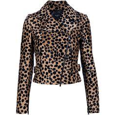 ALA?A leopard print jacket ($5,500) ❤ liked on Polyvore