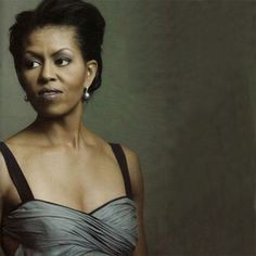 Michelle Obama, photographed by Annie Leibovitz for Vogue November 2012.