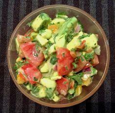 Γουακαμολε Healthy Cooking, Guacamole, Potato Salad, Salsa, Avocado, Food And Drink, Potatoes, Ethnic Recipes, Dressings