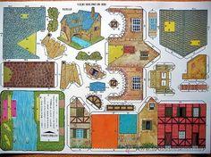 lote completo 10 recortables varias construccio - Comprar Construcciones en todocoleccion - 26890794