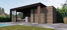 Modern Pool House, Contemporary Garden Rooms, Cabana, Garden Pavilion, Garden Office, Outdoor Living, Outdoor Decor, Pool Houses, House Rooms