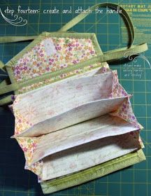 Trousse accordéon - Whistlepig Creek: we do whimsical!: Coupon Clutch Tutorial