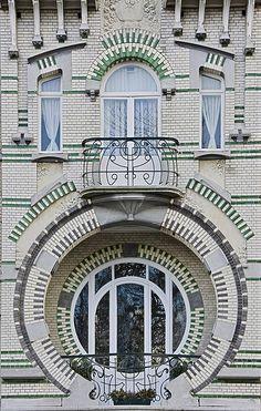 Art Nouveau. Avenue du Mont Kemmel 5- Brussels - Belgium