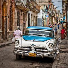 Una calle de la Habana vieja. Gerry Pacher